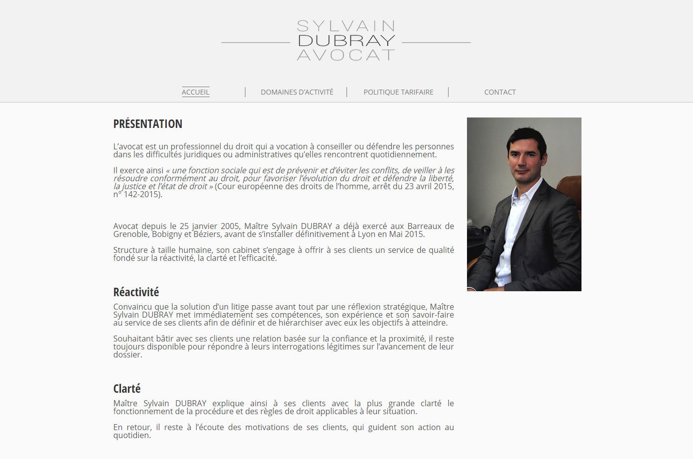 Sylvain Dubray Avocat